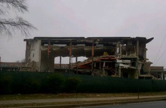 high school being demolished 2