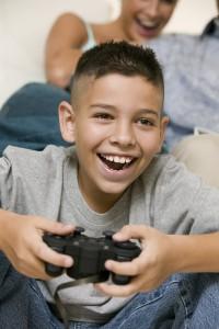 video games child