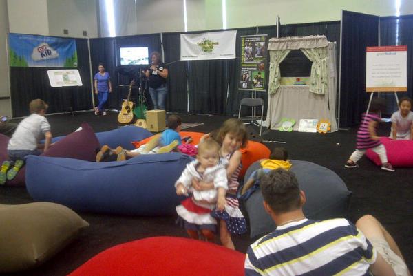 2014 DC Green Festival Yogibo bean bags