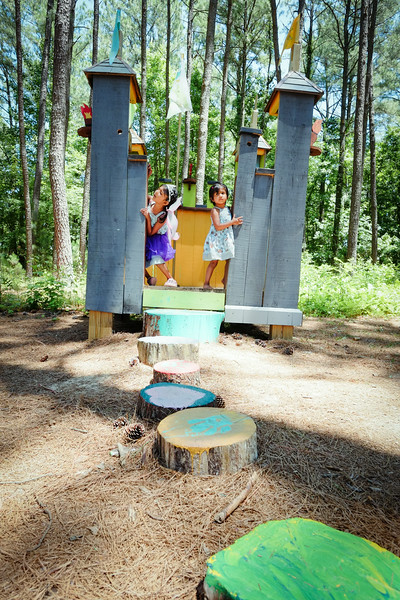 Annmarie Sculpture Garden castle