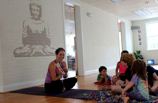 Yoga Camp at 532 Yoga