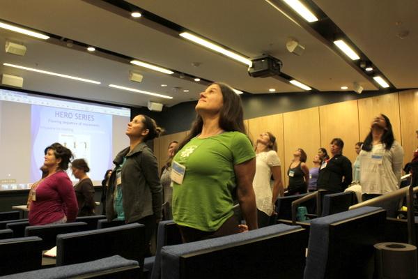 National Kids Yoga Conference Calming Kids session