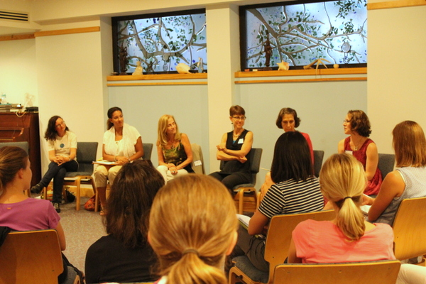 Holistic Moms Arlington Alexandria Children's Emotional Health panel