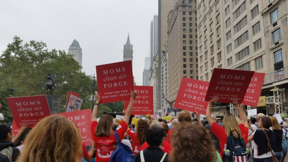 MCAF Peoples March crowd