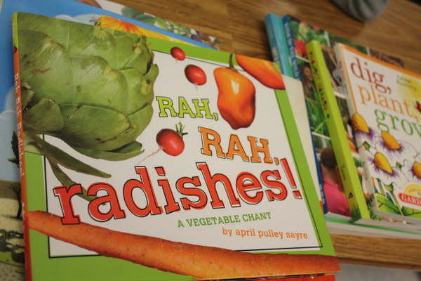 Grow Your Health 2014 kids gardening class book rah rah radishs