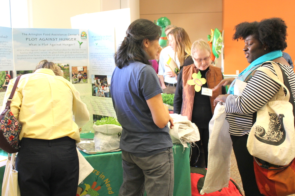 2015 Growing Green Schools in Arlington - Arlington Food Assistance Center