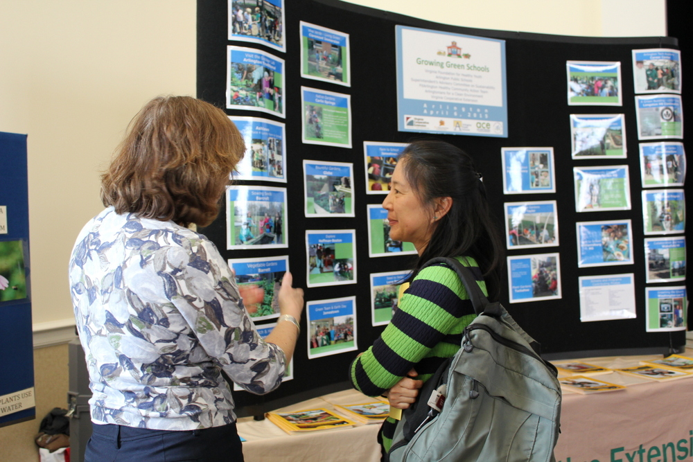 2015 Growing Green Schools in Arlington - Energy Manager Cathy Lin
