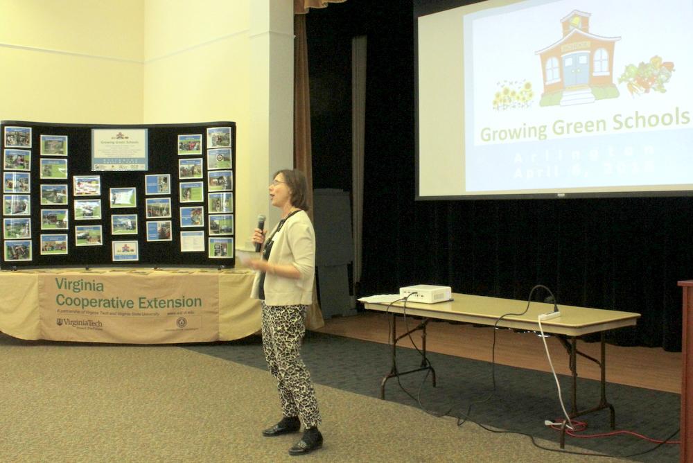 2015 Growing Green Schools in Arlington - Gail Ammons