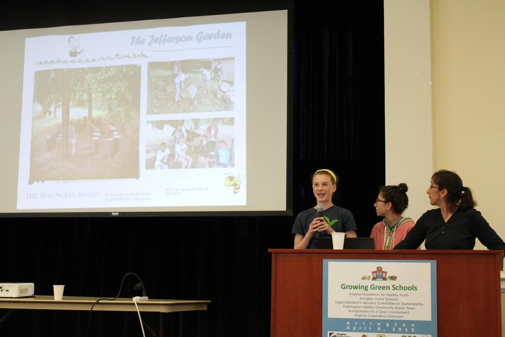 2015 Growing Green Schools in Arlington - TJ Middle School 1