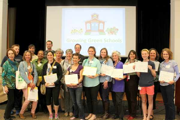 Growing Green Schools inspires school gardens and nutrition programs