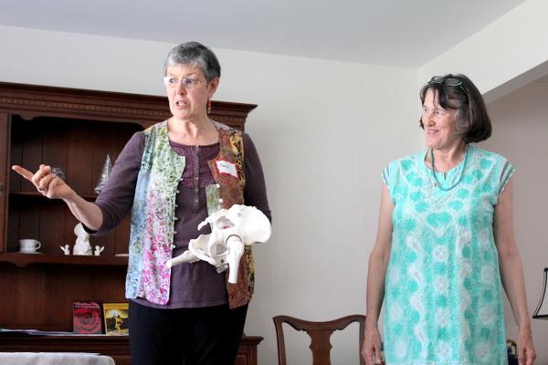 Whole Woman Workshop Anne Walters and Carol Bilek