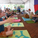 8th Annual Love Your Body Yoga Festival brings healthy family fun to Reston