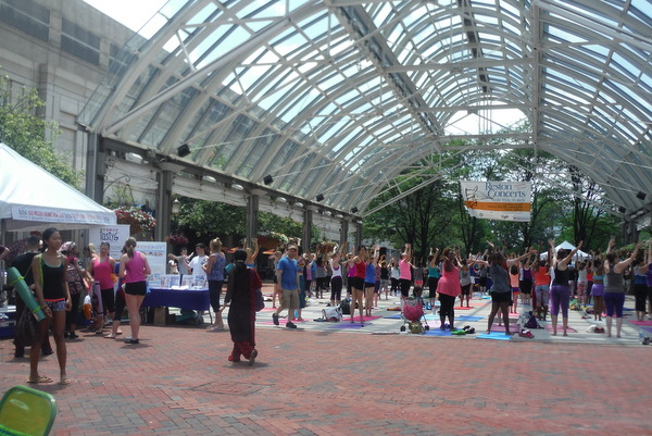 Love Your Body Day 2015 - group class