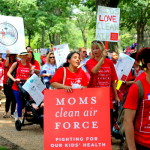 Moms Flock to U.S. Capitol for Climate Action Play-In