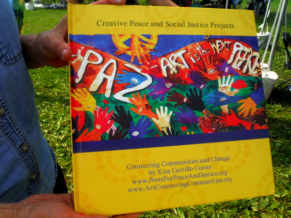 World Children's Festival 2015 - Posts for Peace and Justice book  - by Mindful Healthy Life