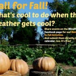 Call for Fall Events