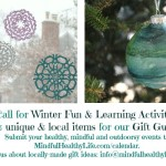 Call for Winter Events & Gift Guide Items