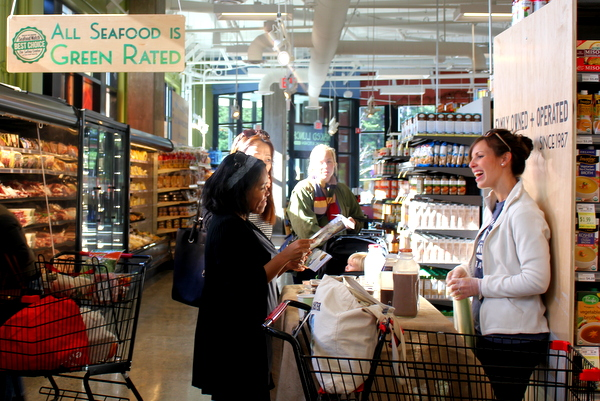 Moms Organic Market Arlington opening by Mindful Healthy Life - Trickling Springs