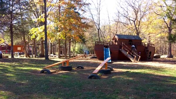 Ticonderoga Farms play area