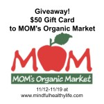 Giveaway: $50 Gift Card to MOM's Organic Market
