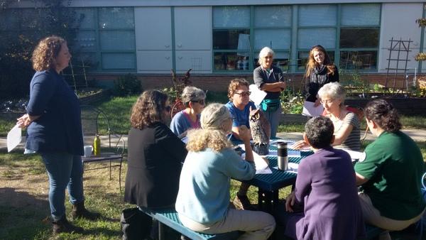Campbell Elementary School Garden Meetup 2 October 2016