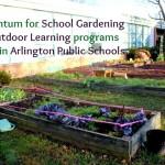 School Gardens gain momentum in Arlington Public Schools