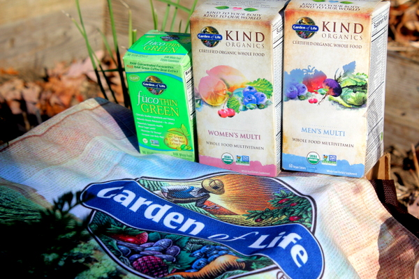 Garden of Life supplements giveaway