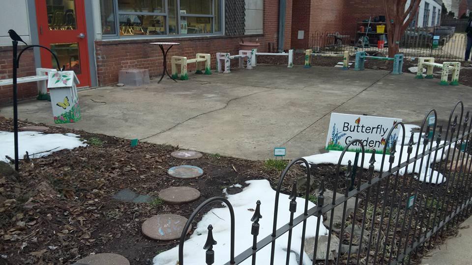 Tuckahoe Elementary Discovery Schoolard butterfly garden