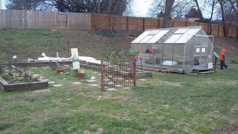 Tuckahoe Elementary Discovery Schoolard peter rabbit garden and greenhouse
