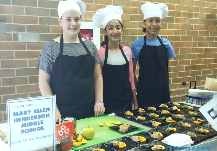 Henderson Middle School - Real Food for Kids - Mindful Healthy Life