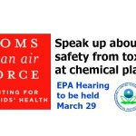 Tell EPA to address safety requirements for toxic chemical exposure