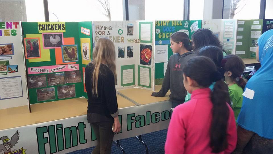 Flint Hill display at SEAS