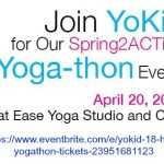 Let the children do yoga! Support YoKid this spring
