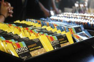 National Kids Yoga Conference 2016 - KIND bar display