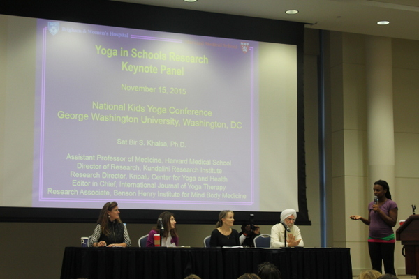 National Kids Yoga Conference 2016 - Yoga in schools keynote panel