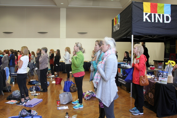 National Kids Yoga Conference 2016 - crowd
