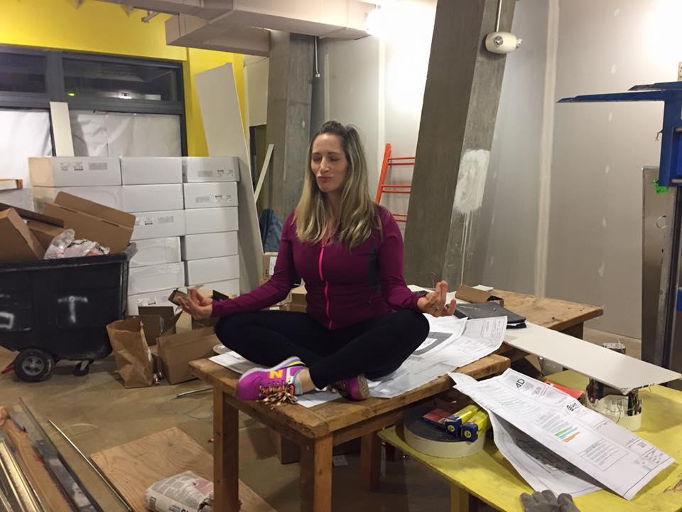 Nina Elliot finding inner stillness at the new TRUE
