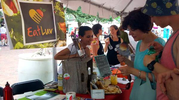 2016 Love Your Body Yoga Festival Eat Luv ghee