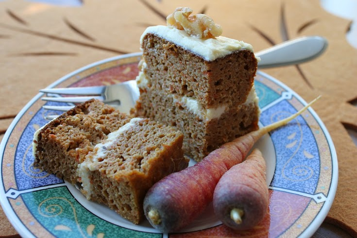 EatLuv clarified butter carrot cake