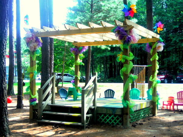 Annmarie Sculpture Garden Art Lab - Fairy Lolly stage