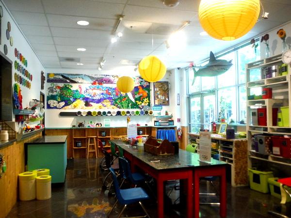 Annmarie Sculpture Garden Art Lab interior