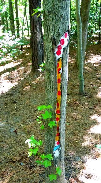 Annmarie Sculpture Garden Put Me in a Zoo art snippet