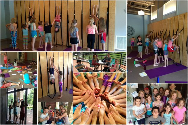 Kids Yoga Staycation at Ease with Cathy Burke - montage