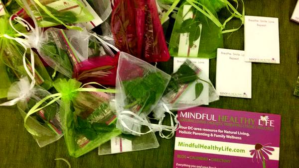 MommyCon DC 2016 Mindful Healthy Life herbs