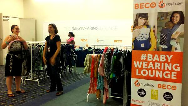 MommyCon DC 2016 babywearing lounge