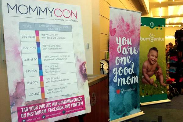 MommyCon DC 2016 schedule and exhibit area-001