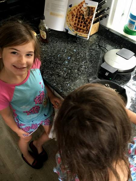 Predominantly Paleo kids in kitchen