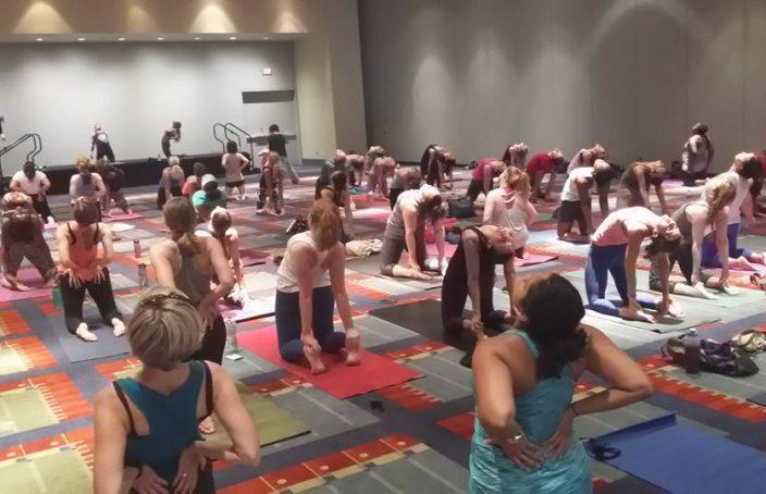 Yoga expo dc 2016 group camel