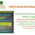 NoVA Outside promotes outdoor learning with two fall events