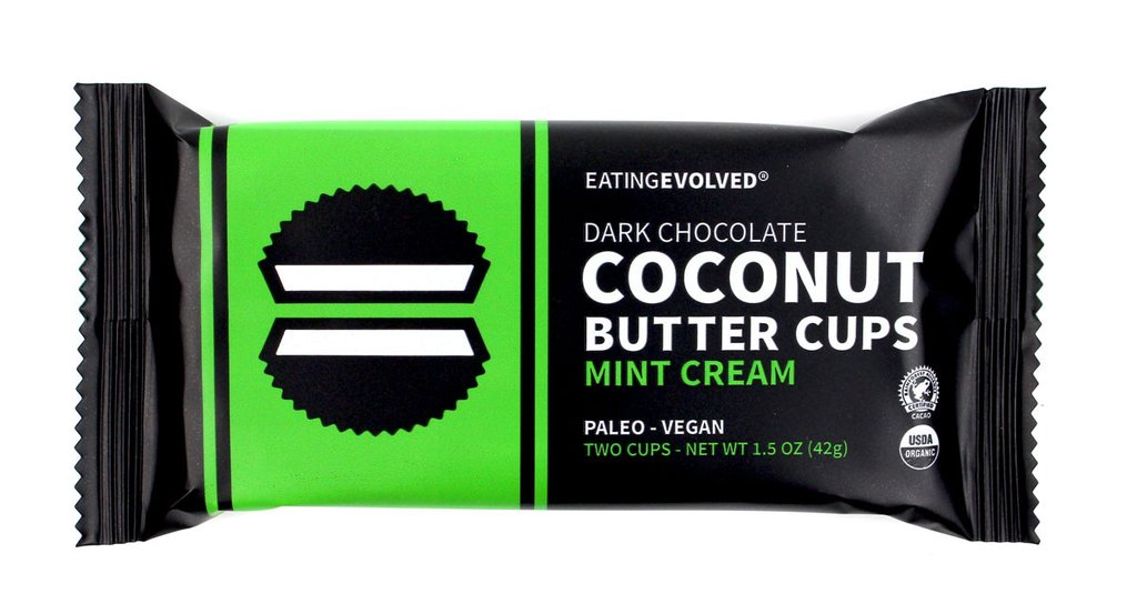 Eating EVOLVED Mint cups 1024x1024